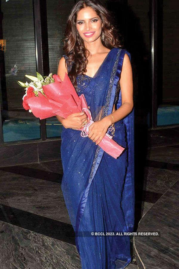 Vartika Singh's homecoming party
