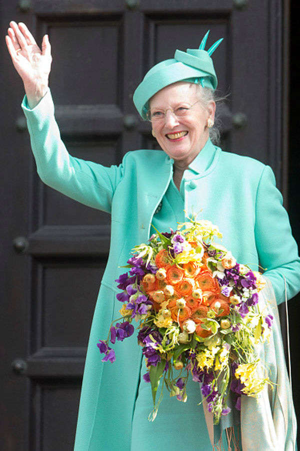 The 75th Birthday Of Queen Margrethe II