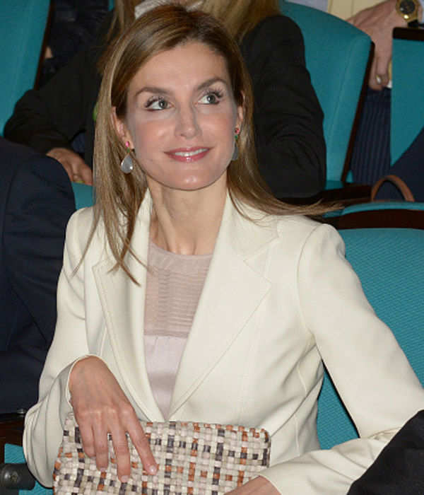 Queen Letizia Attends the Congress of Rare Childhood Diseases