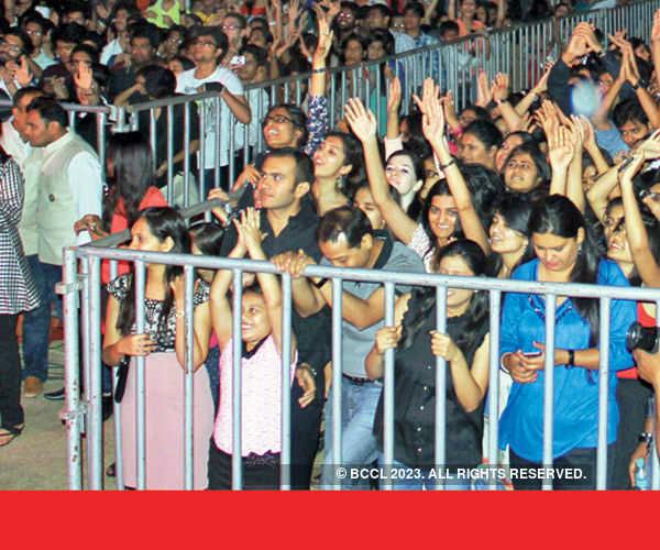 Indoreans enjoy the beats