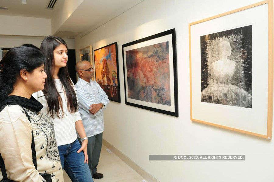 An art exhibition