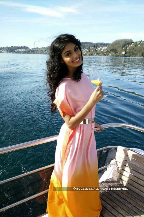 Miss India 2015 first runner-up Aafreen Vaz's #SwissDiary