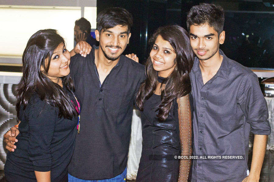 A grand freshers party