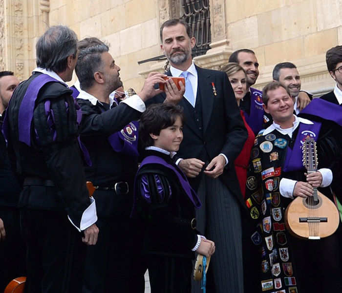 Cervantes award ceremony in Spain
