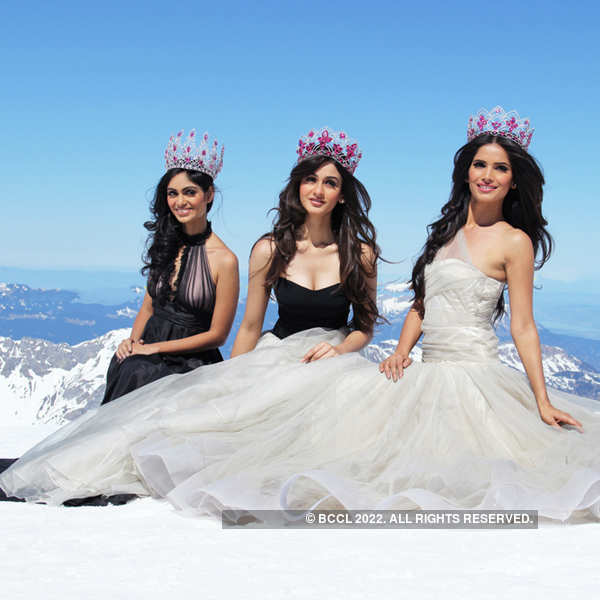 Mt.Titlis visit by Miss Indias