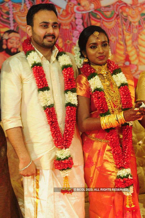 A lavish wedding ceremony