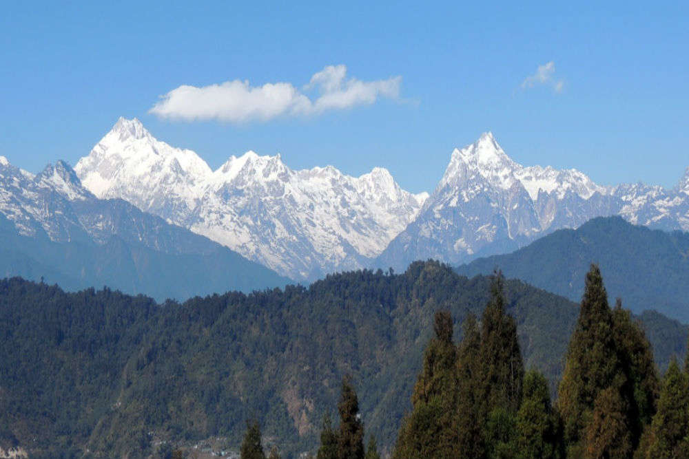 Viewpoints of Kanchenjunga