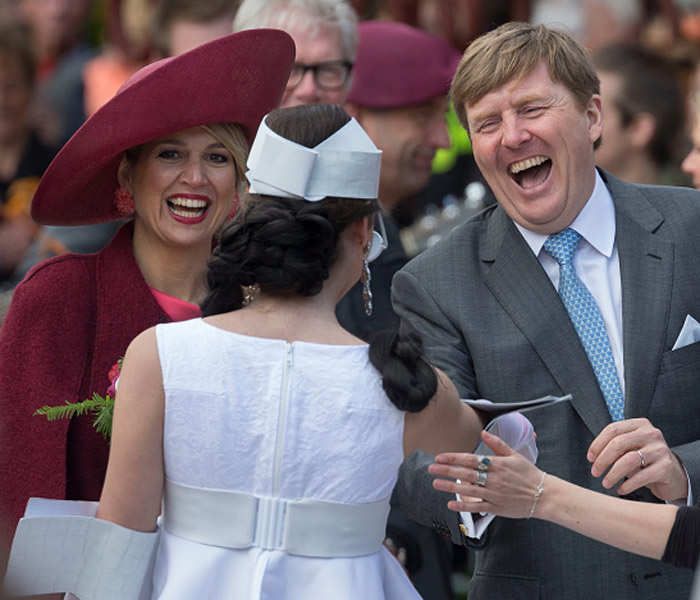 Dutch Royal Family Attends King's Day