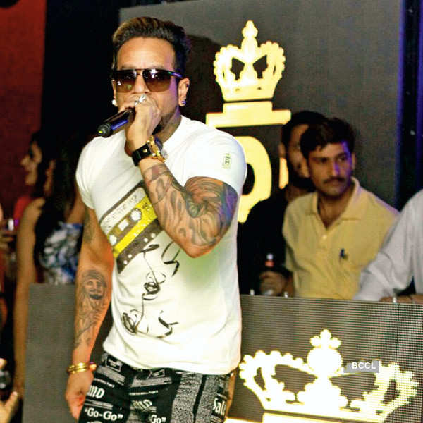 Jazzy B performs at a party