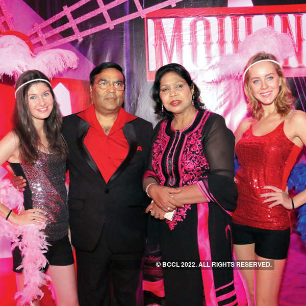 Moulin Rouge theme party