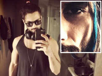 Shahid Kapoor's colourful hairdo for 'Udta Punjab'?