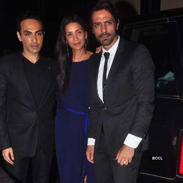 Abhishek Kapoor's wedding party