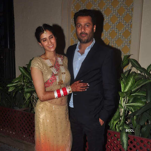 Abhishek Kapoor's wedding party