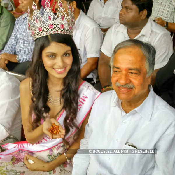 Miss India Supranational 2015 Aafreen Vaz at 19th Federation Cup