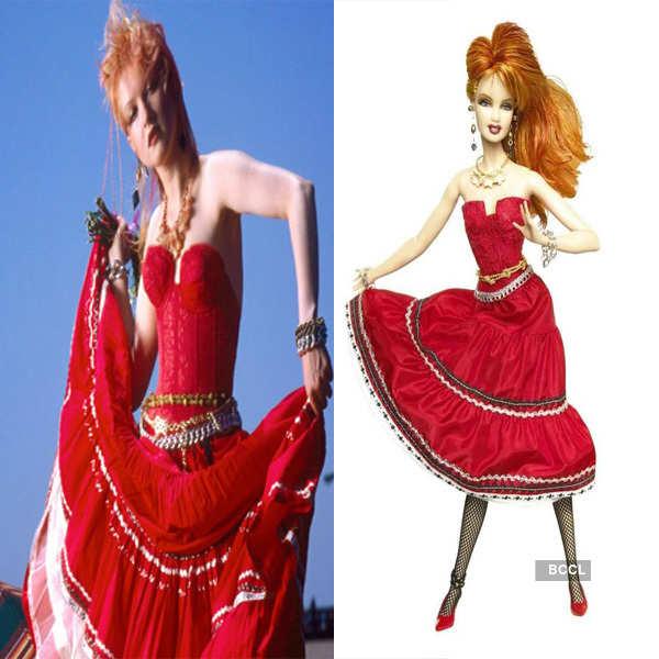 Celebs Immortalized as Barbie