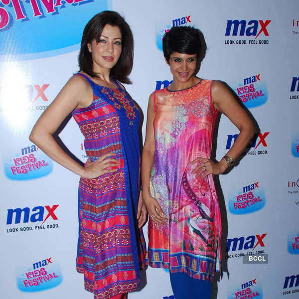 Tara, Mandira @ Kids fashion show