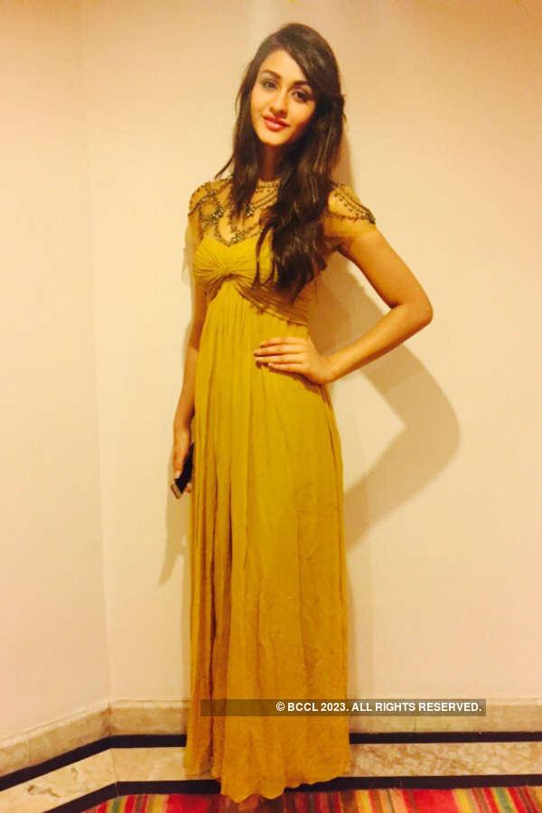Miss India 2015 Aditi Arya dazzle at the Nutricharge event in Raipur
