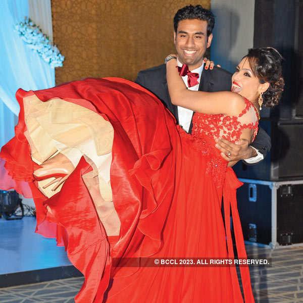 Sunil & Leela's sangeet-cum-cocktail party