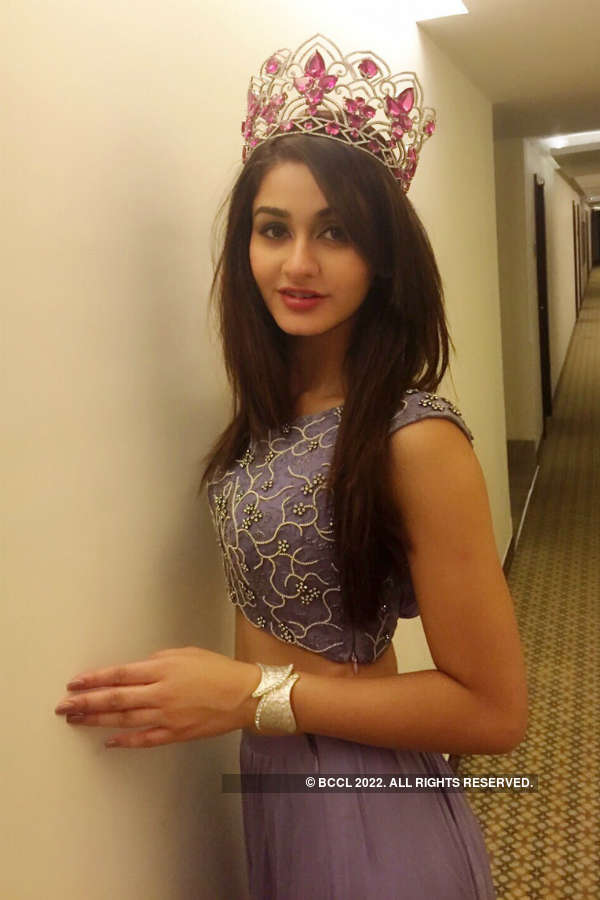 ​Miss India World Aditi Arya attends Nutricharge event in Delhi