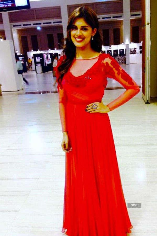 A gorgeous judge: Asha Bhat at Miss Grand Thailand