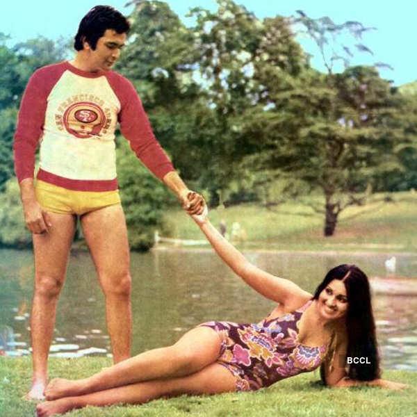Rishi Kapoor and Reena Roy