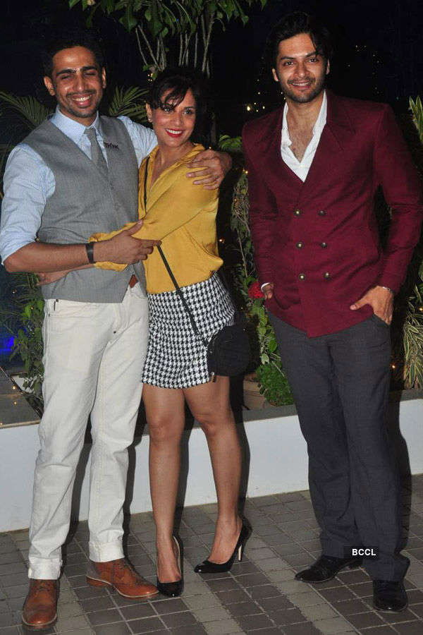 Celebs @ Mary Kom's success party