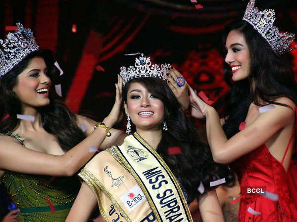 Beauty queen Asha Bhat crowns Miss Supranational Thailand 2015