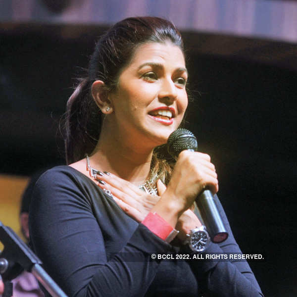 Celebs at a musical concert in Delhi