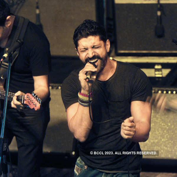 Celebs at a musical concert in Delhi