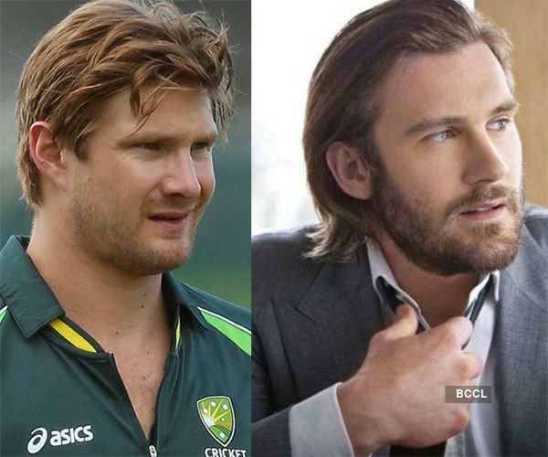 Australian cricketer resembles pretty much with the  English actor Clive Standen Photogallery - Times of India