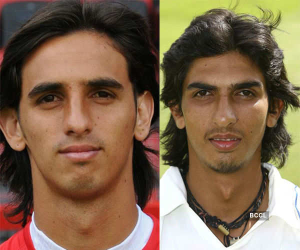 Bryan footballer has quite similar features like Indian player Ishant Sharma Photogallery - Times of India
