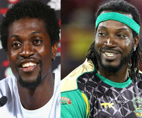 Emmanuel looks quite similar with Jamaican player Chris Photogallery - Times of India