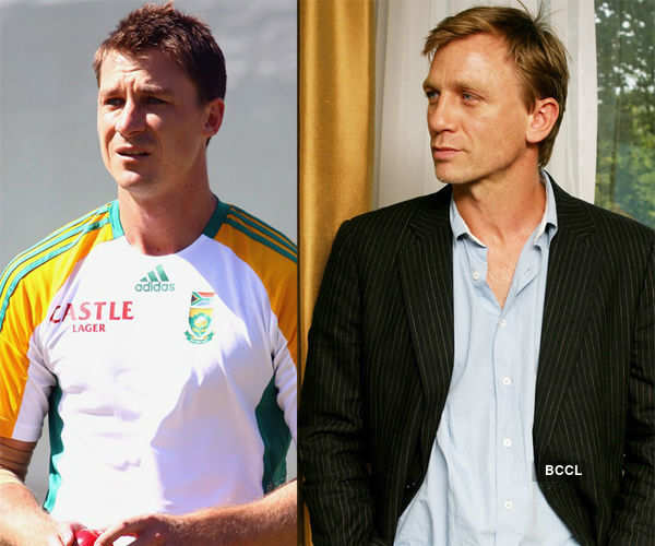 South African player Dale resembles with actor Daniel Photogallery - Times of India
