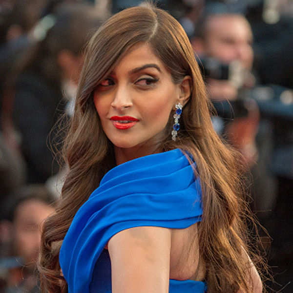 Sonam Kapoor looks gorgeous during the Cannes- Photogallery  - Times of India