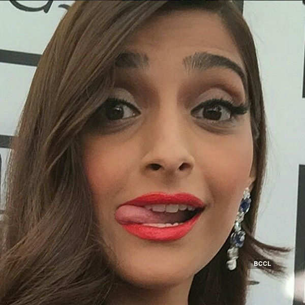 Sonam Kapoor during the Cannes - Photogallery  - Times of India