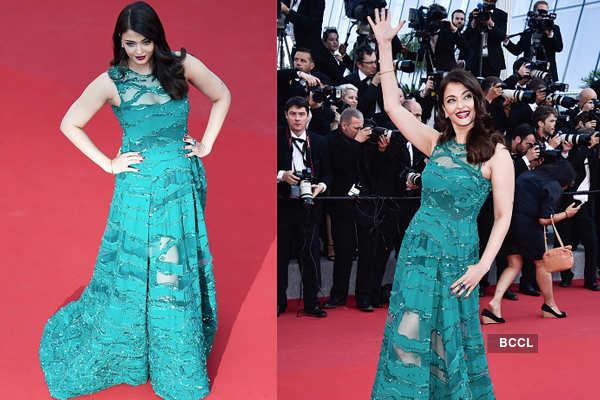 Aishwarya Rai Bachchan at the 68th Cannes Film Festival