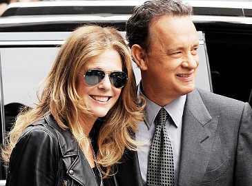 Tom Hanks and Rita Wilson make a final Letterman appearance