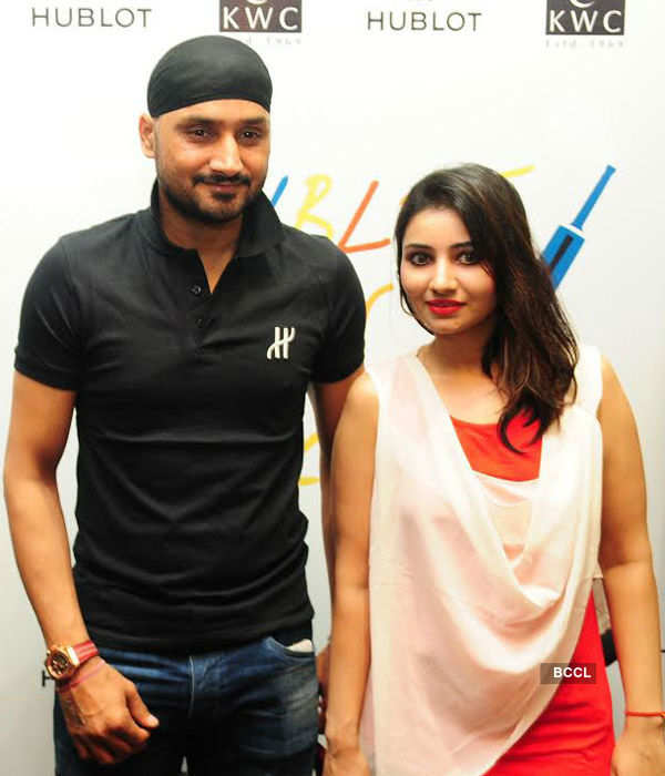 Harbhajan launches Hublot Swiss watch