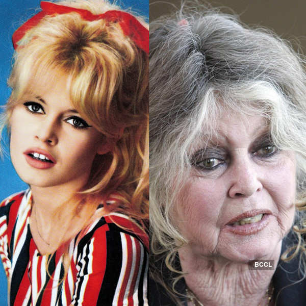 Former French actress Brigitte Bardot is a far cry from her younger self Photogallery - Times of India
