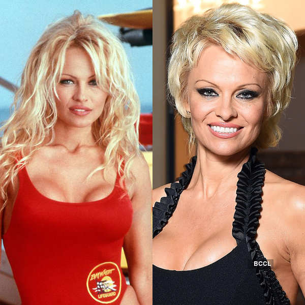 Baywatch hottie Pamela Anderson looks much older than her real age Photogallery - Times of India