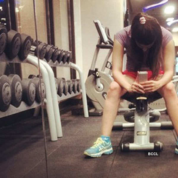 Celebrity Gym Selfies Photogallery Times of India