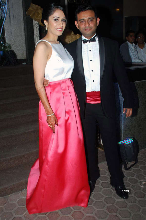 Vishal Mahadkar's wedding reception