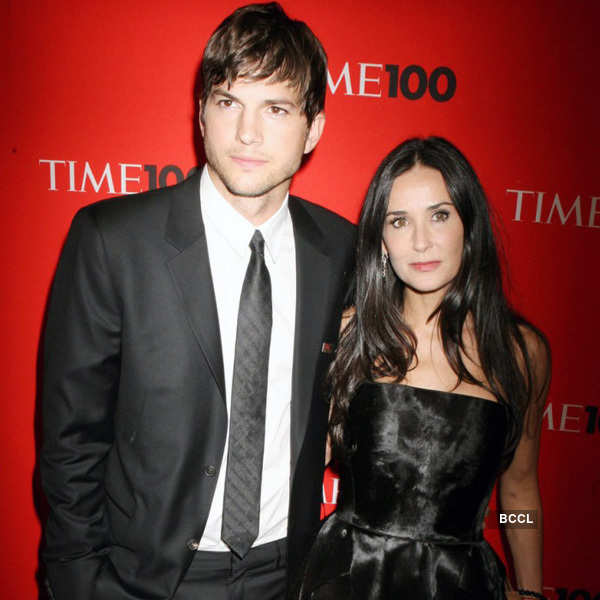 Demi Moore and Ashton Kutcher Photogallery - Times of India
