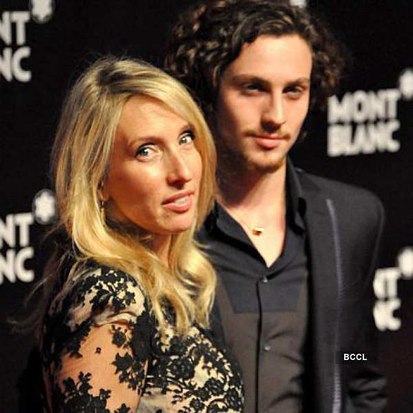 Samantha Taylor-Wood and Aaron Perry Johnson Photogallery - Times of India