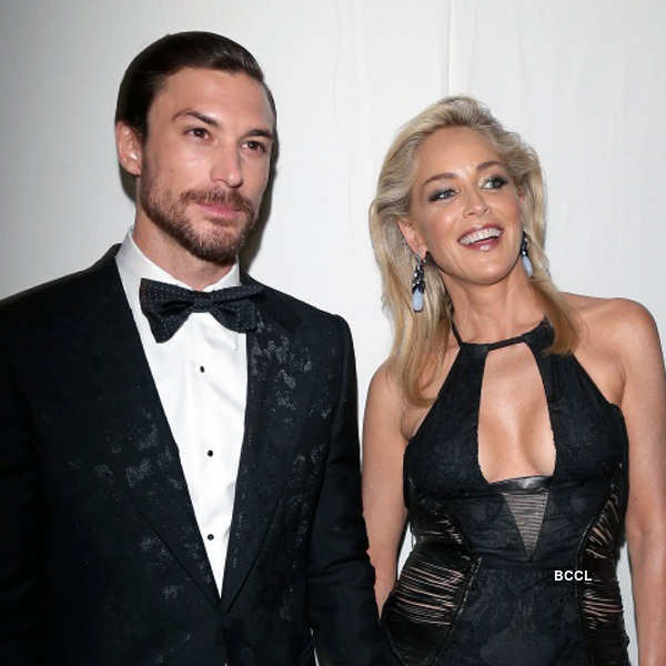 Sharon Stone and Martin Mica Photogallery - Times of India