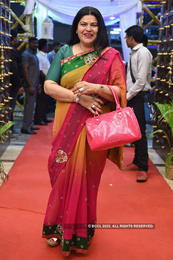 Rekha & Manikandan's wedding reception