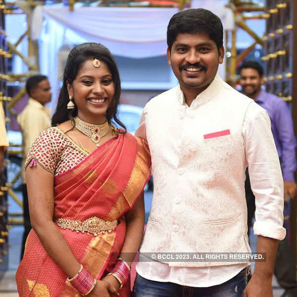 Rekha & Manikandan's wedding reception