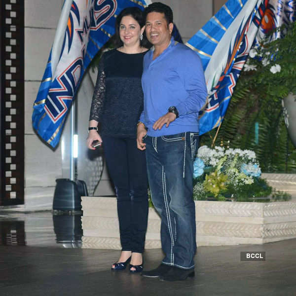 Celebs @ Mumbai Indians party