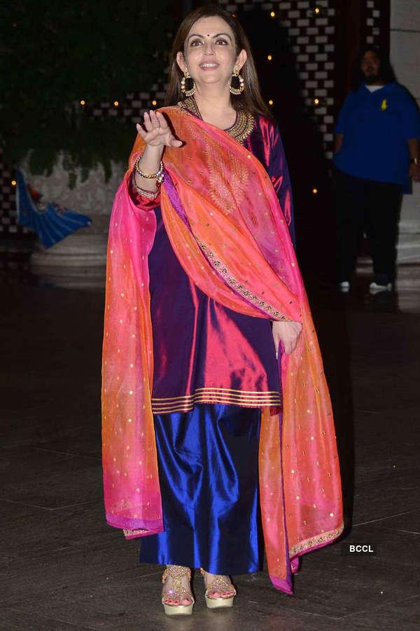Celebs @ Mumbai Indians party