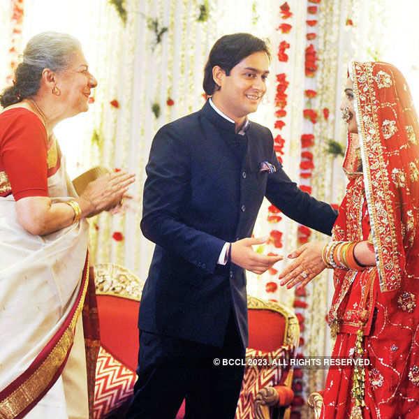 Jaivardhan & Sreejamya's wedding reception